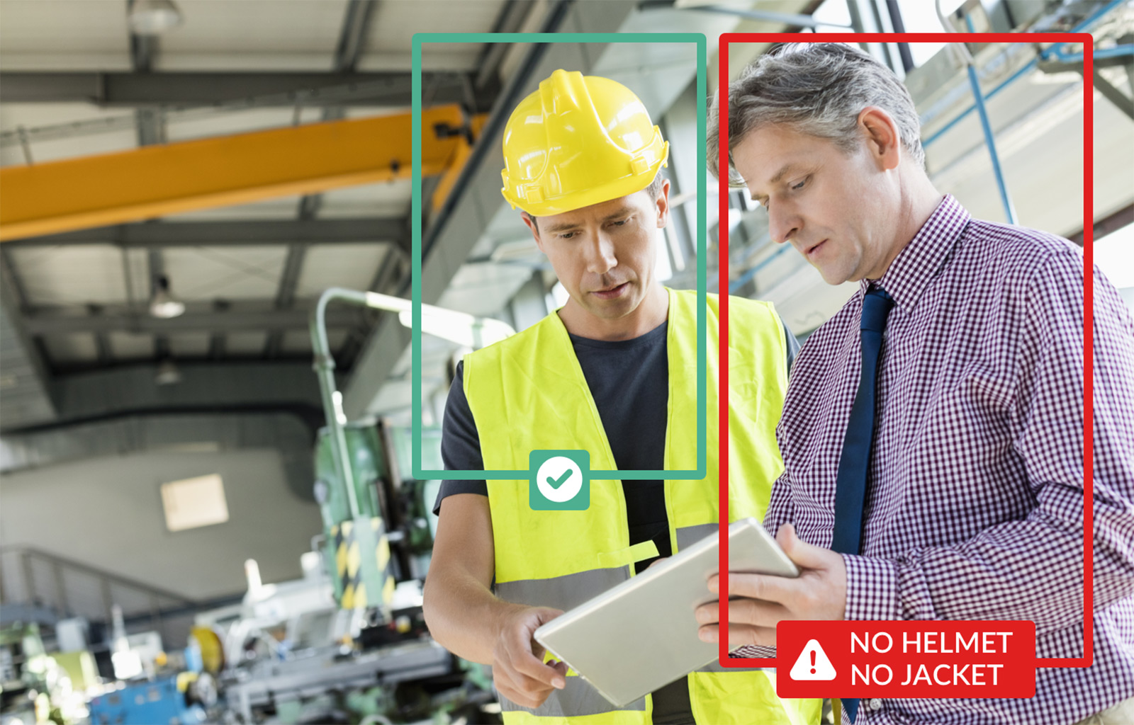 Ensure compliance with safety procedures